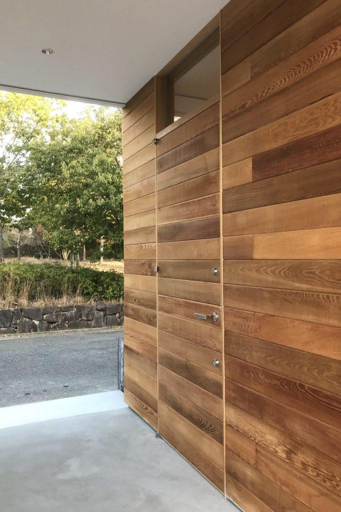 兵庫県 神戸市 設計 玄関ドア 製作