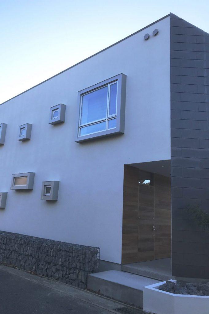 兵庫県 神戸市 設計 角地Ⅲ 蛇籠壁